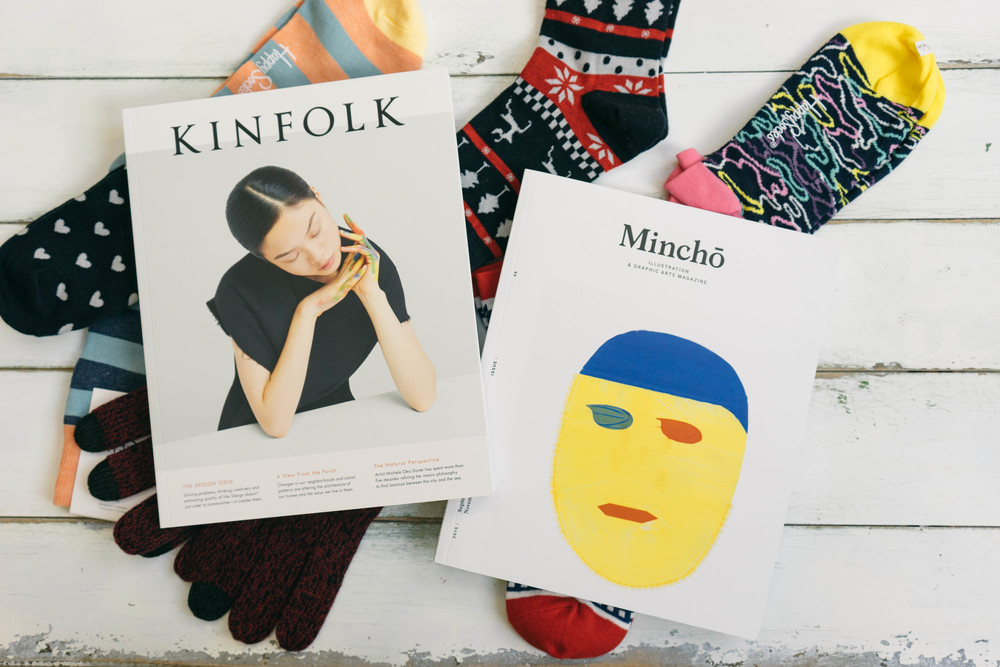 Some of the most coveted items from under the Xmas tree this year include: Mincho design magazine and Kinfolk for hipsters like me ;) - More at www.MarinaSays.com