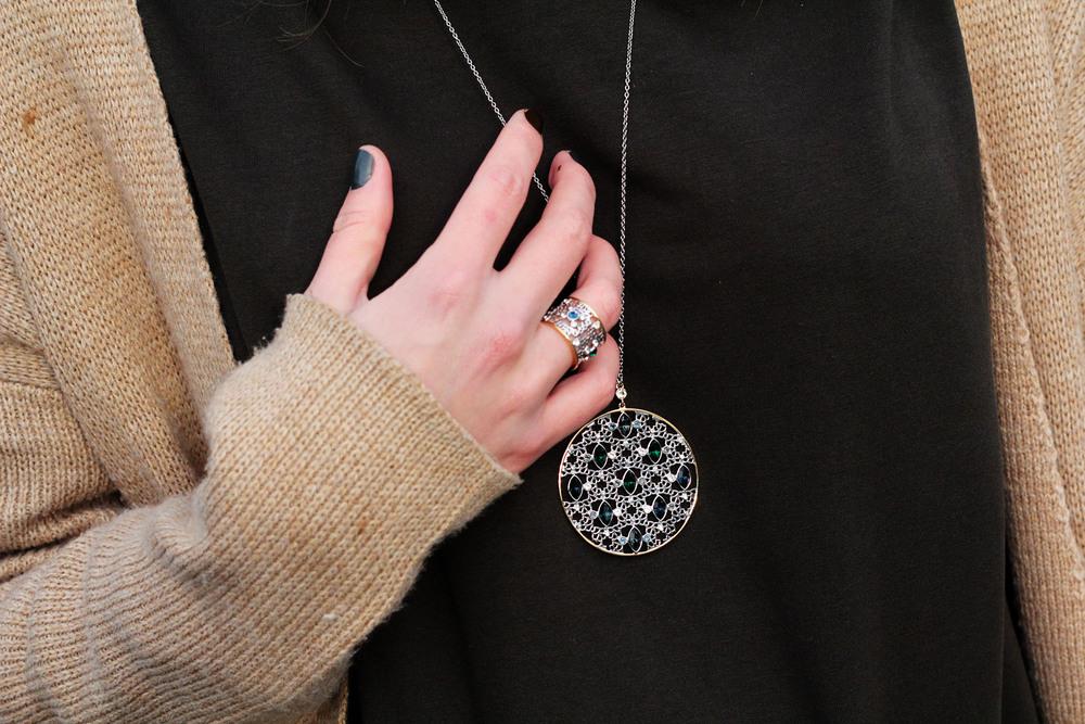 Swarovski jewelry at www.MarinaSays.com