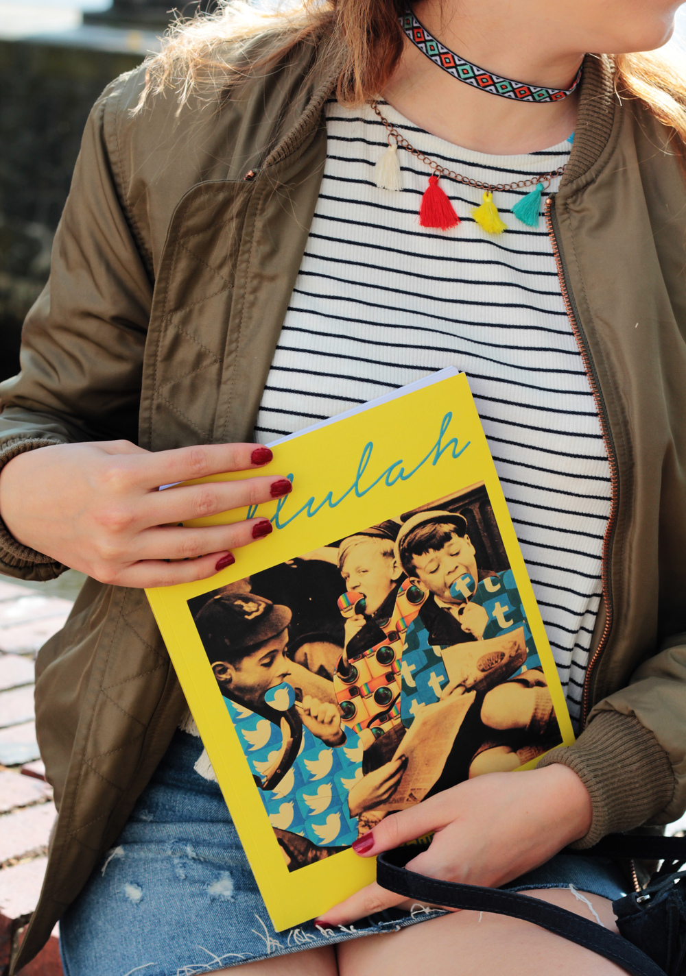 Tallulah Magazine Volume 02 is all about the artist's process and backstory. Discover how modern art has changed my life recently at www.MARINASAYS.com - a blog for women who love pretty things.
