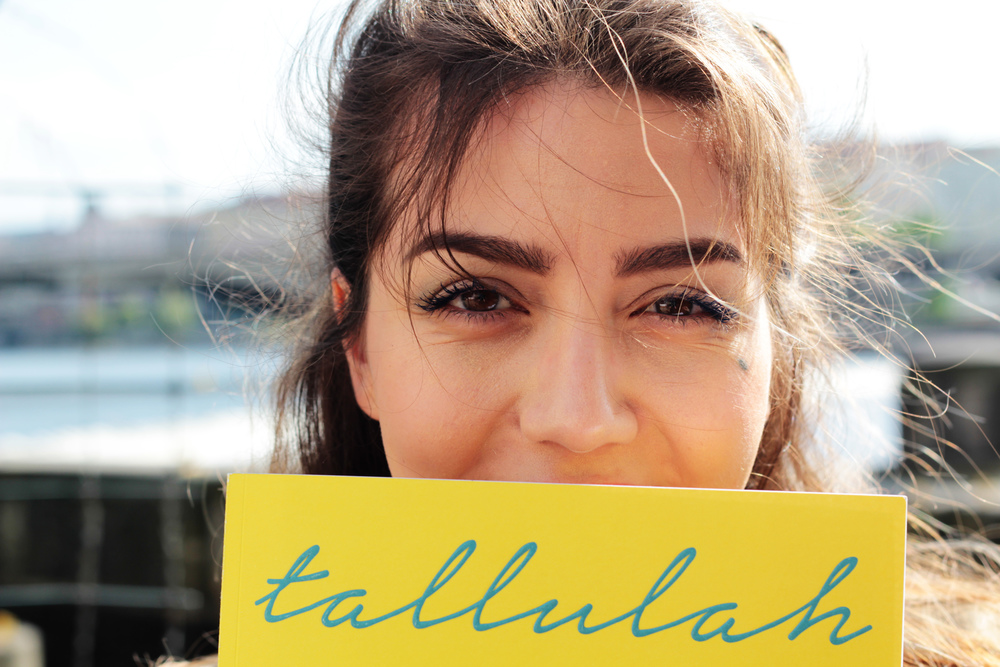 What I'm reading right now.... Tallulah art magazine! More lifestyle tips and obsessions at www.MARINASAYS.com