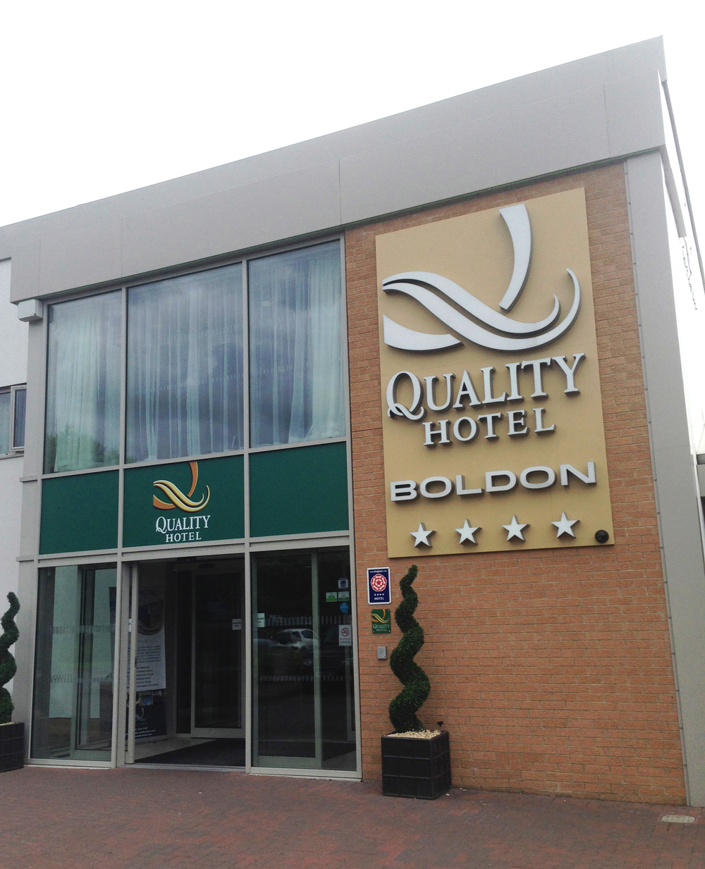 The Quality Hotel, Boldon, near South Shields.