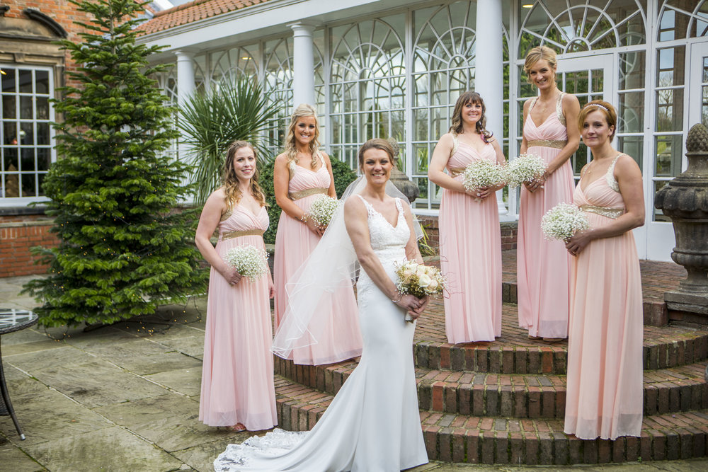 bridesmaids christmas tree bridge hotel wetherby