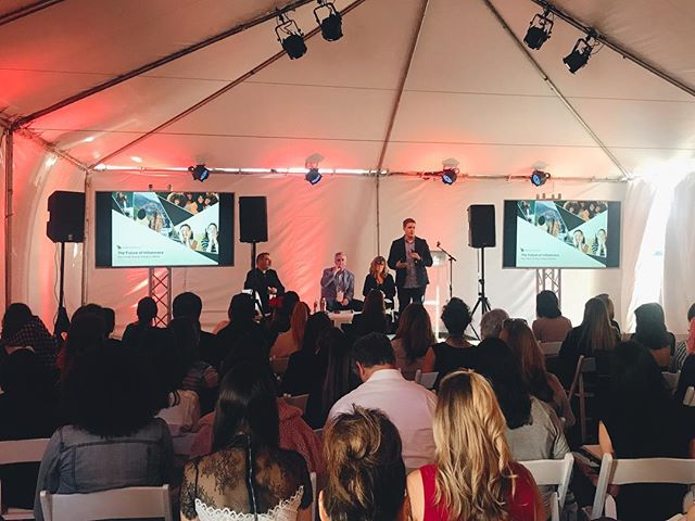 #TBT to our Co-Founder, Conor Begley, presenting at Make Up Los Angeles. Thanks for having us #makeuplosangeles | #tribedynamics