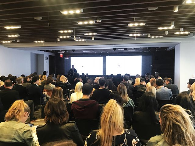 A big thank you to everyone who joined us last night for our latest quarterly event in New York