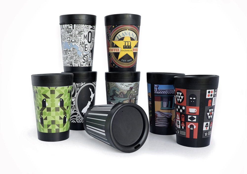 Cuppacoffeecup reusable cup design