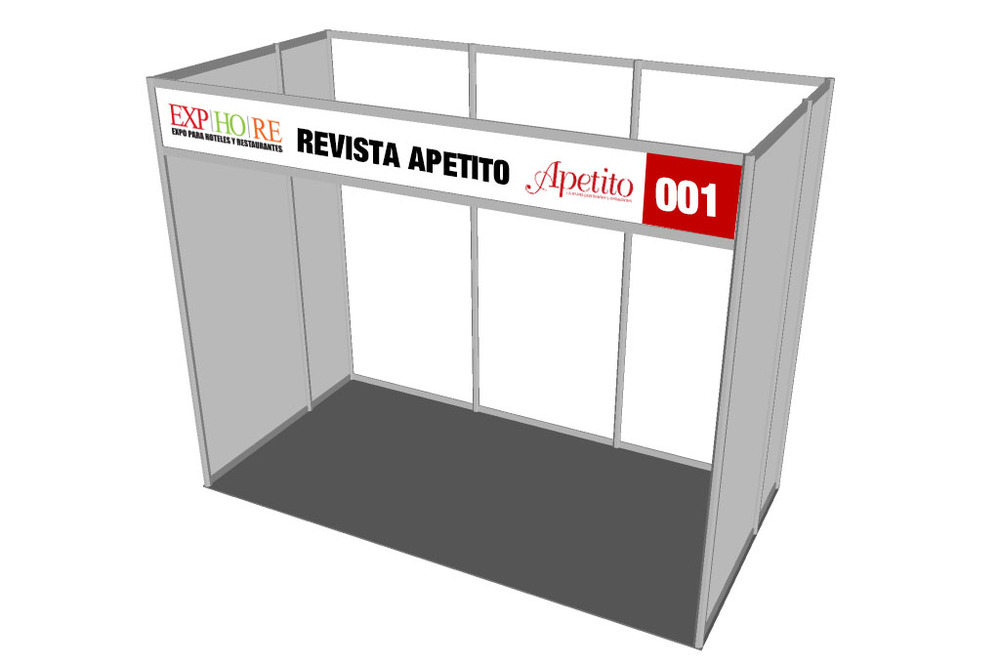 STAND 3 X  1.5 MTS