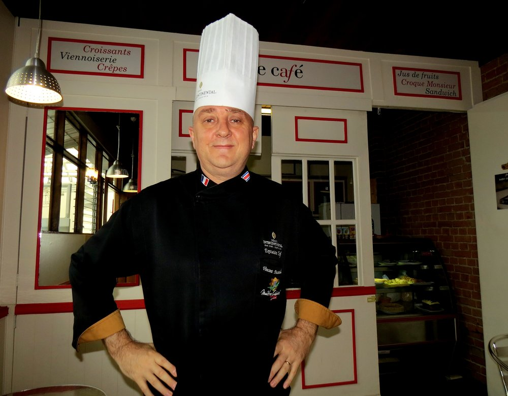 Vincent Boutinaud, chef ejecutivo del Hotel Real Intercontinental