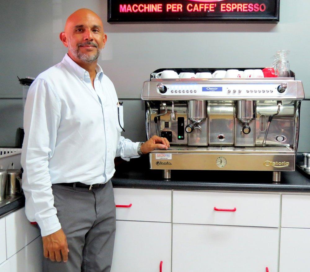 Arturo Ramos, gerente de operaciones de Electrofrio.
