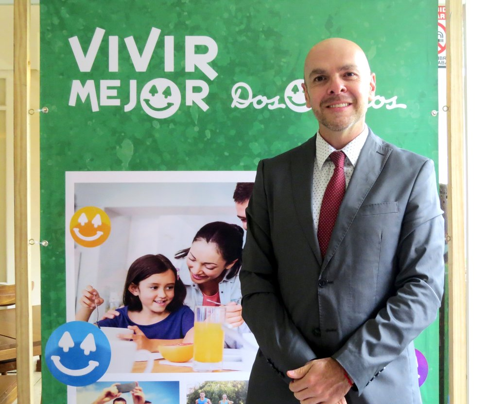 Francisco Herrera, nutricionista de Dos Pinos
