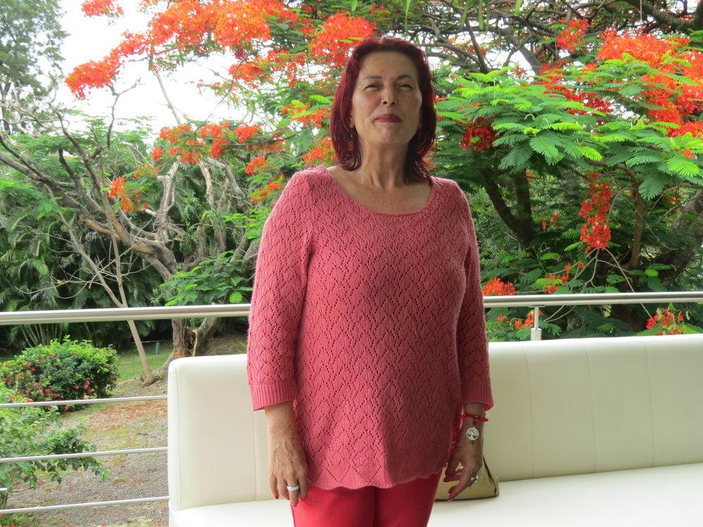 Olga Segura, coordinadora de gestión integral de residuos del Ministerio de Salud