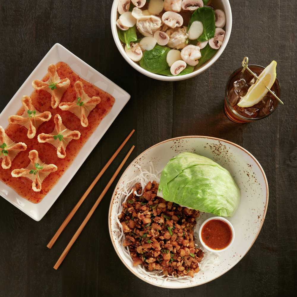 La propuesta gastronómica del lugar se centra en los mejores sabores de Asia.