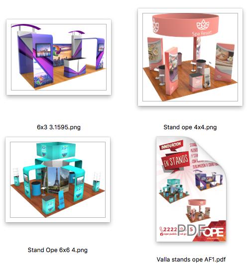 La empresa ofrece productos gráficos personalizados