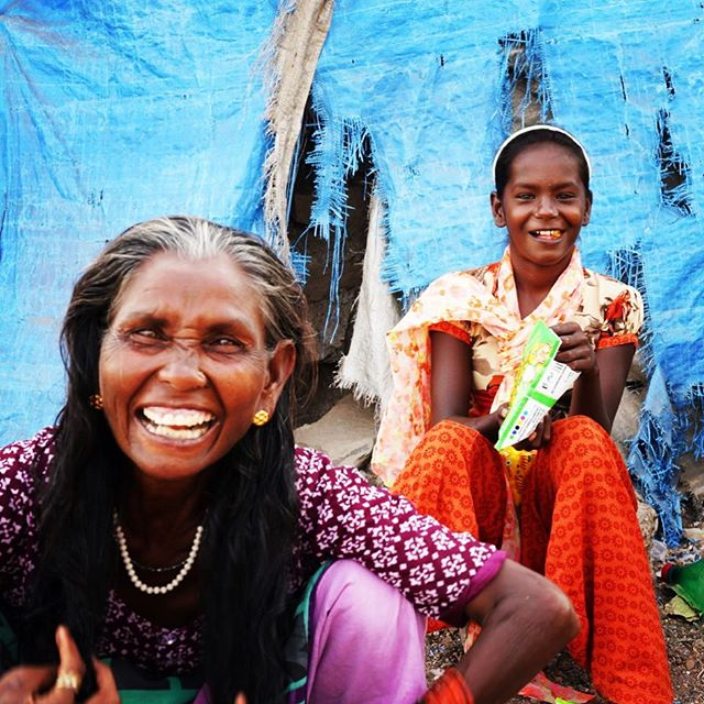 Women from the fishing village chatting and laughing. #urbexphotography #street #fishing #fishingvillage #india #fun #laughter #blue #india
