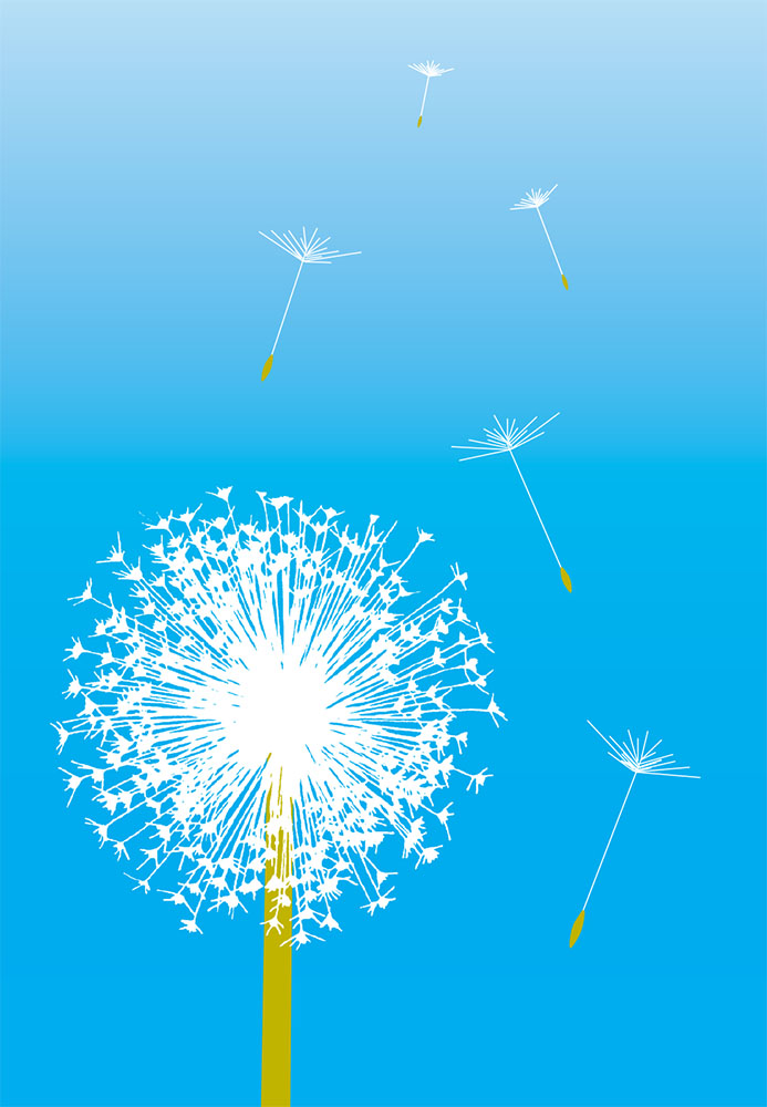 Dandelion in Blue | 182