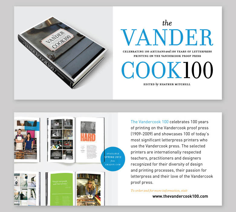 Modern Optic is one of the selected printers included in  The Vandercook 100 .