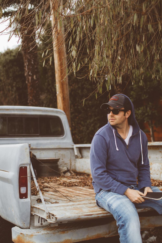 Matt on location in Venice.