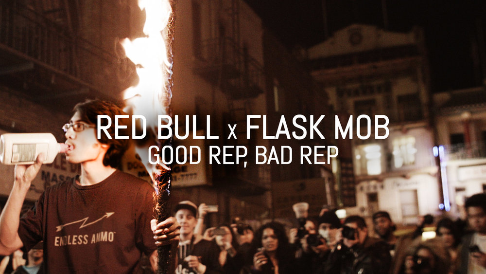 Red Bull x Flask Mob