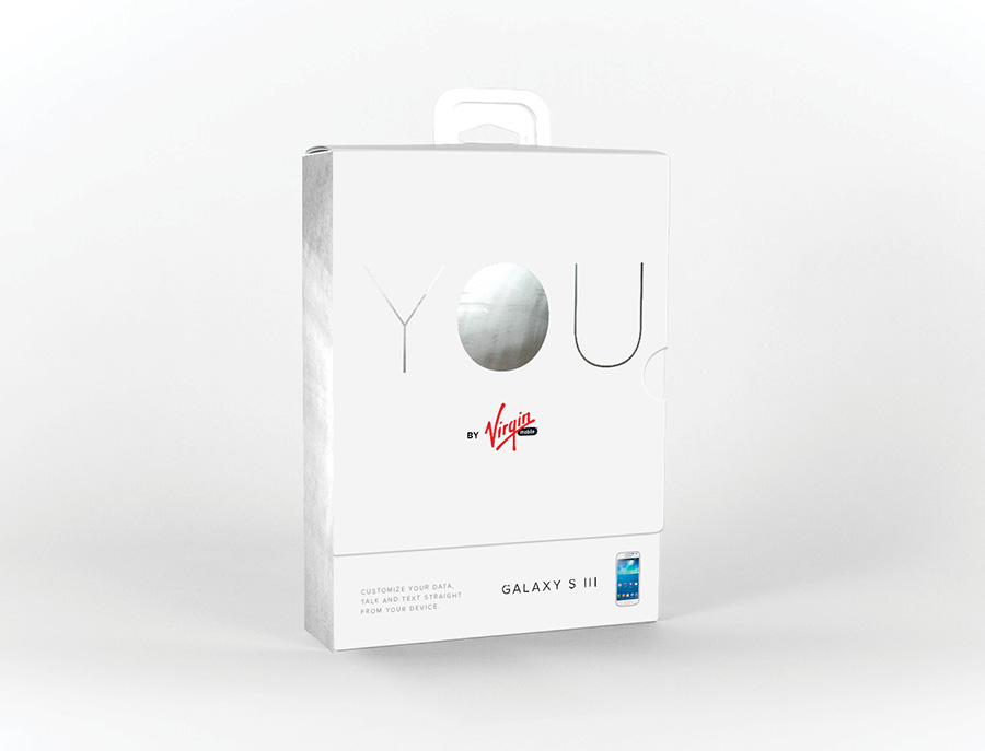 This concept utilized a clean package & mirrored foil so consumers would see their reflection.