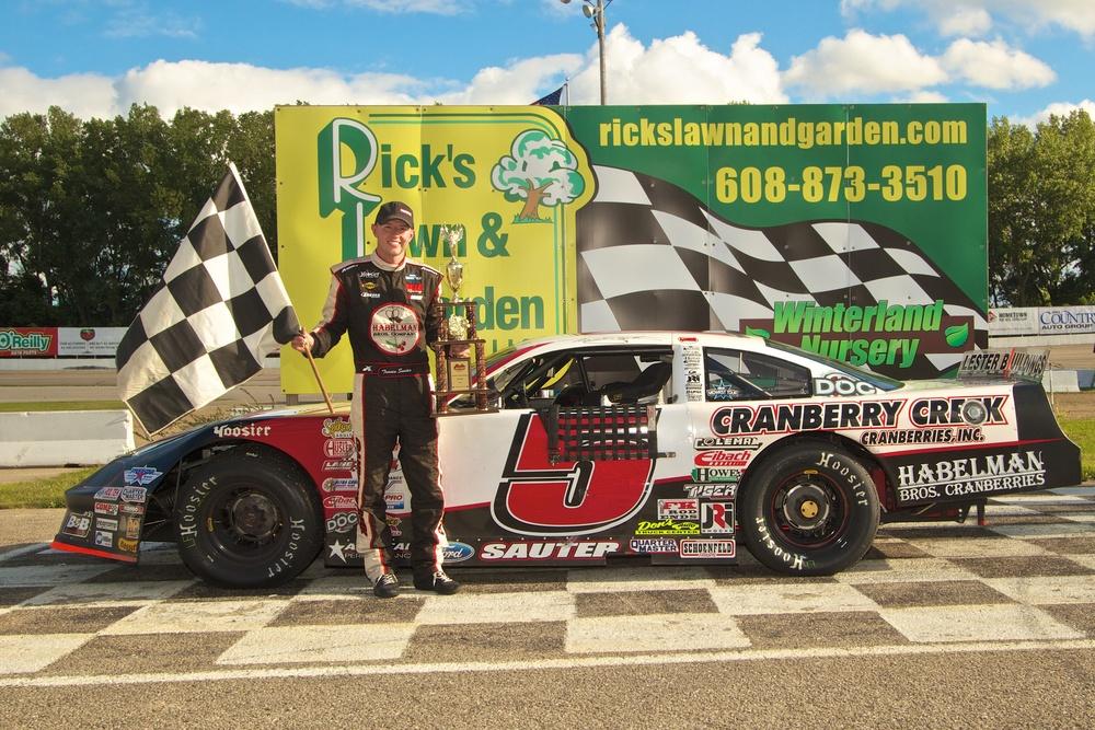 Travis Sauter won the 2013 ARCA Midwest Tour Joe Shear ClassicPHOTO: TJ Harron Photography