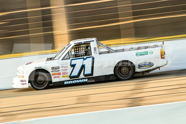 American Ethanol Super Truck Series - Twin 30 lap races after ARCA qualifying on Saturday, August 23, 2014.