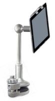FLOTE ORBIT with low-profile clamp, best ipad tablet desk or kitchen stand