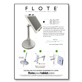 FLOTE Orbit Owner's Guide