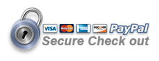 Pay for FLOTE with all credit cards, paypal