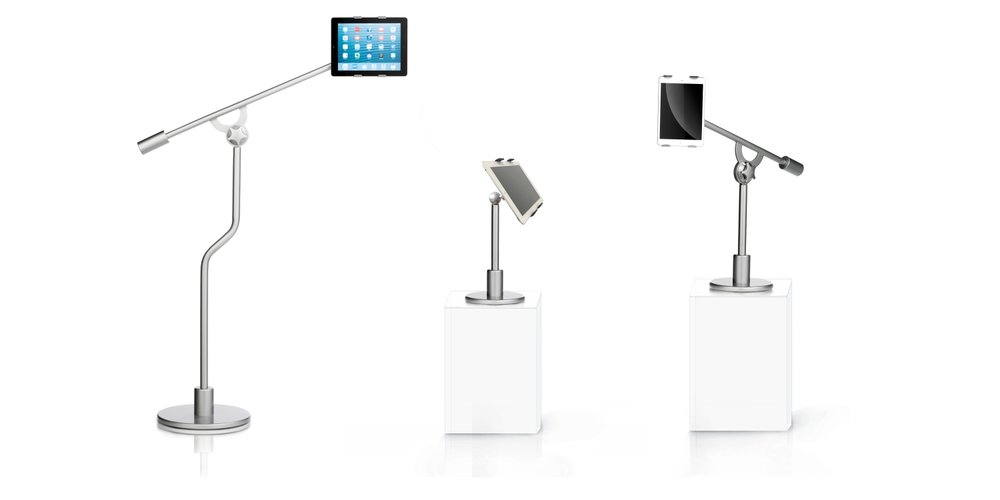 FLOTE iPad Tablet Adjustable Floor Bed and Desktop Stands