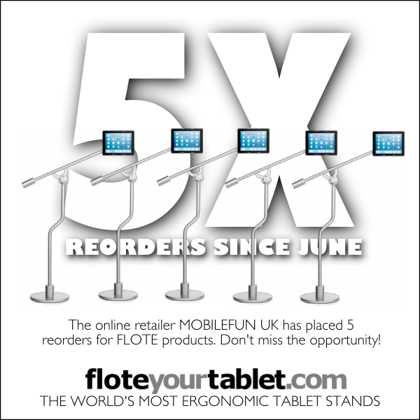 Authorized reseller MOBILE FUN UK has reordered five times within just a few months of becoming a reseller. Join in our success!