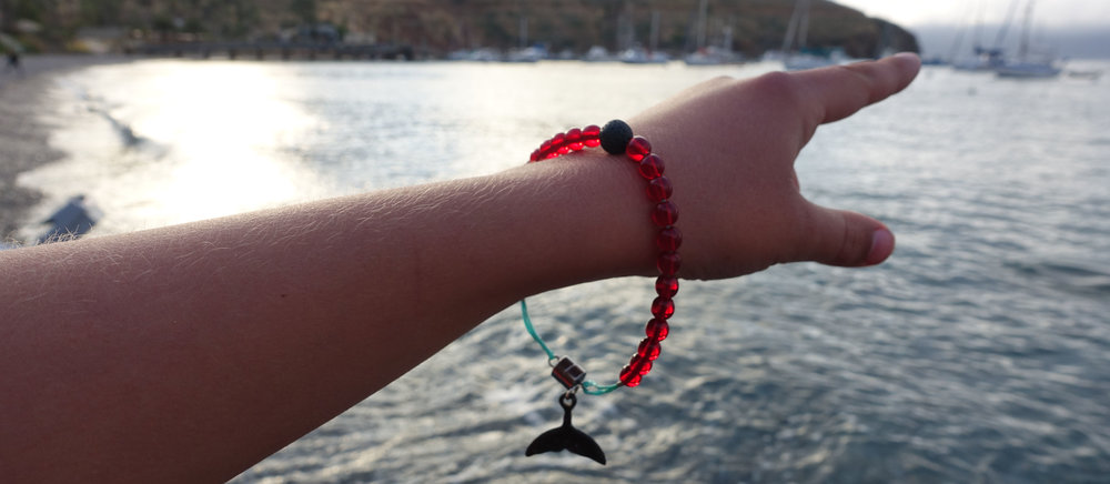 Each Bracelet Buys a Kid  - EEvery Bracelet bought pays for an entire day of ocean cleanup by an overly empassioned micro-ocean-warrior.