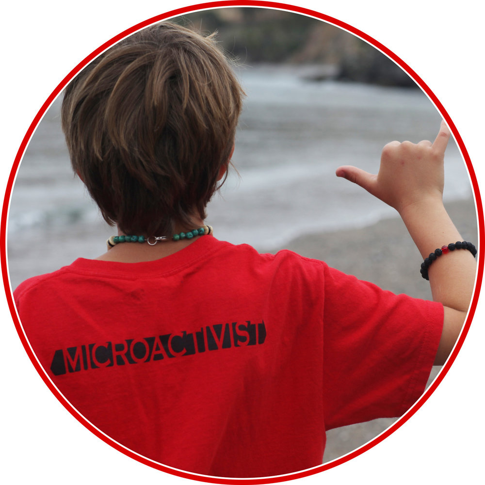 A MICROACTIVIST IS DEDICATED TO THE LIFELONG QUEST OF PROTECTING THE OCEAN & ALLIT'S CRITTERS -