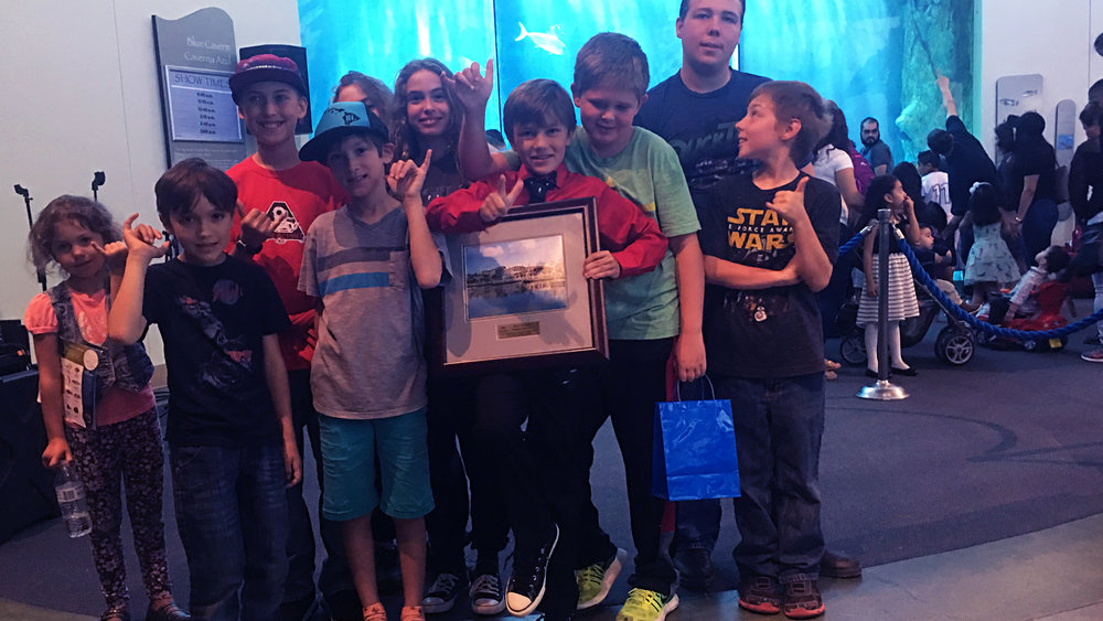 AQUARIUM OF THE PACIFIC HERO OF THE YEAR AWARD