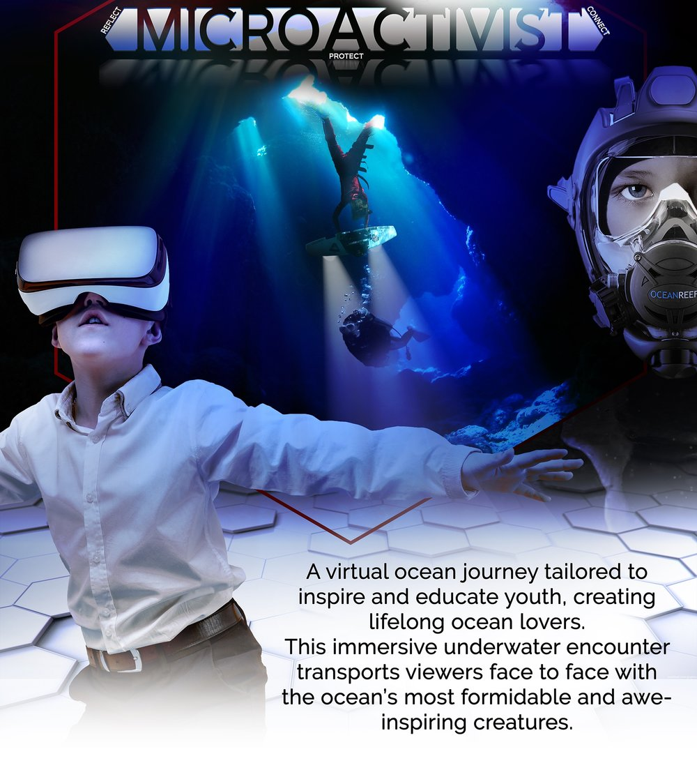 DIVE DEEP  - THE ViRtual Ocean EDUCATION OF A LIFETIME
