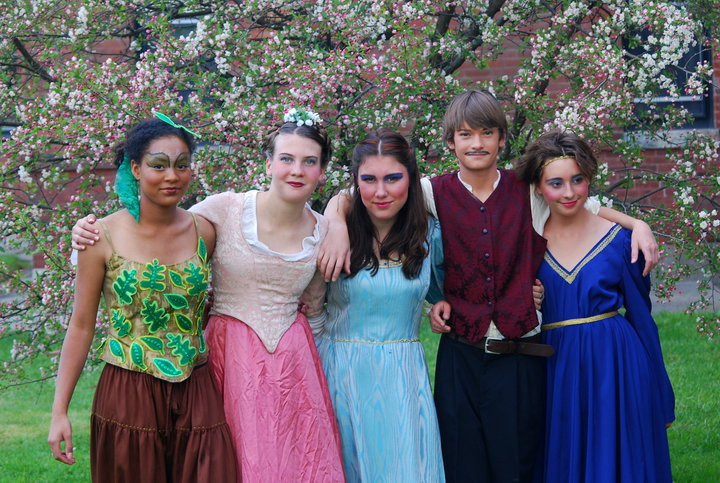 Leads in A Midsummer Night's Dream