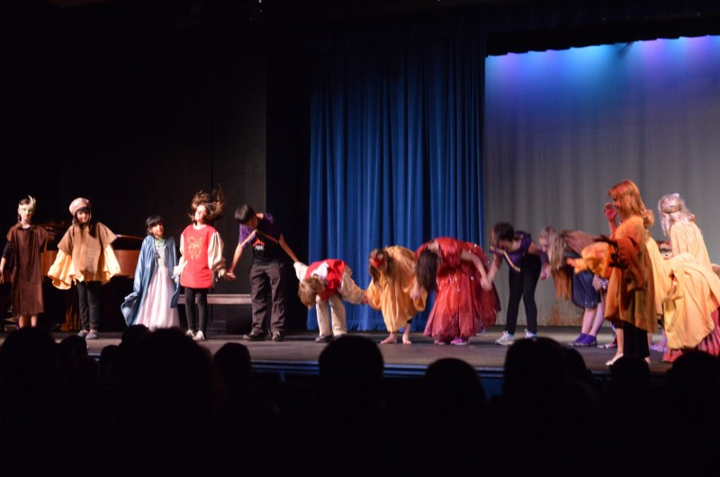 This is how we finished our final performance at Inspirations Theater Camp 2014