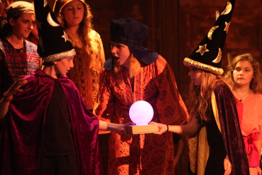 The Sultan chastises her wizards