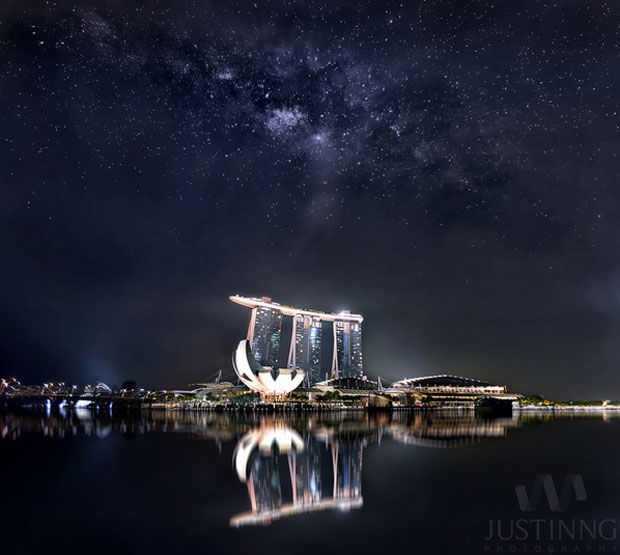 If you are as skilled as Justin Ng, then you could capture the night sky in all its awesomeness.