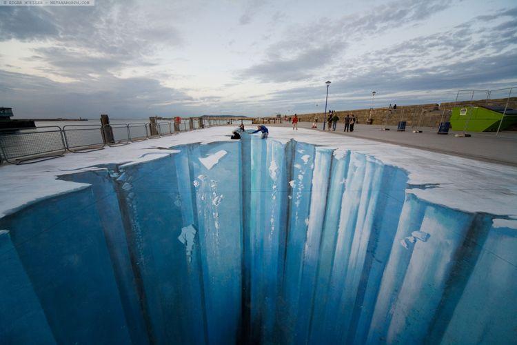 The Crevasse/ Photo Credit:Edgar Muller
