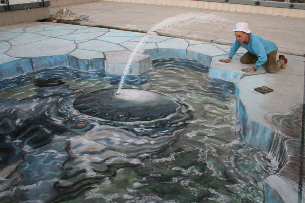 Japanese Whale / Photo Credit: Julian Beever