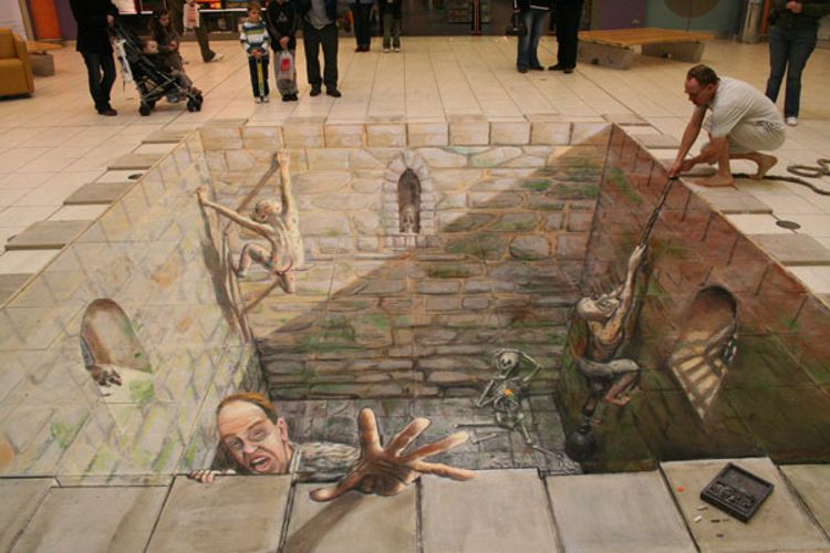 Dungeon / Photo Credit: Julian Beever