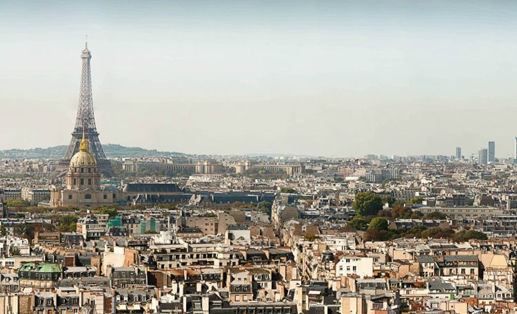 Paris Panorama (26 Gigapixels) / Photo Credit: Martin Loyer and Arnaud Frich