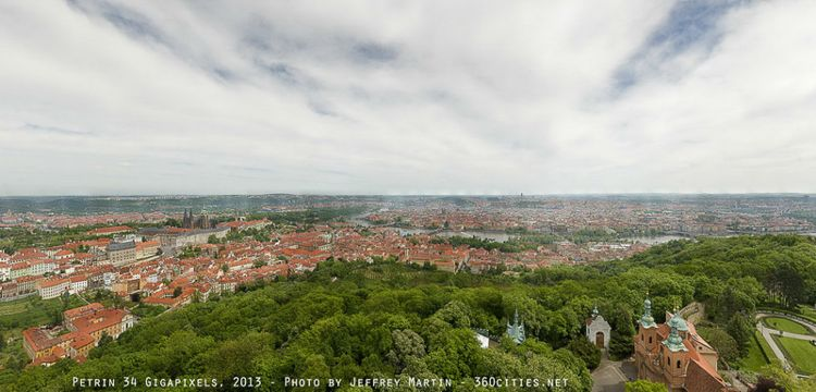 Prague Panorama (34 Gigapixels) / Photo Credit: Jeffrey Martin