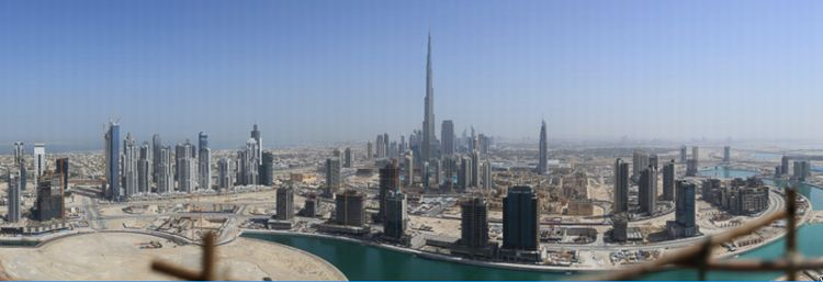 Dubai Panorama (45 Gigapixels) / Photo Credit: Gerald Donovan