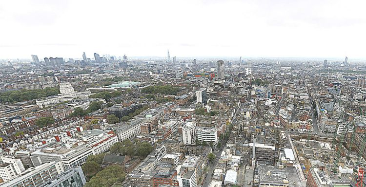 London Panorama (320 Gigapixels) / Photo Credit: 360Cities