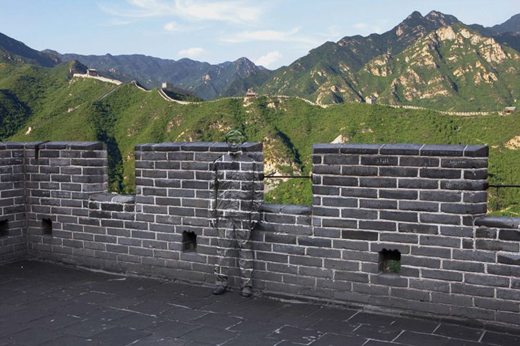 Great Wall Photograph / PhotoCredit: Liu Bolin