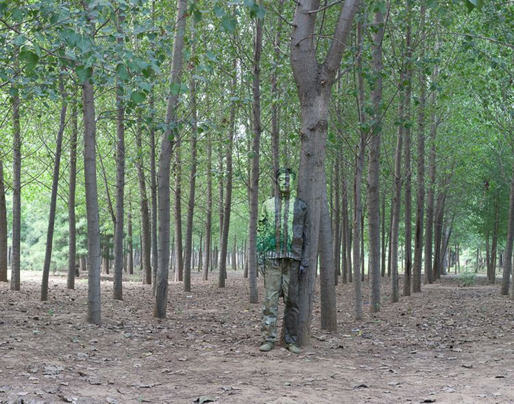 In the Woods / PhotoCredit: Liu Bolin