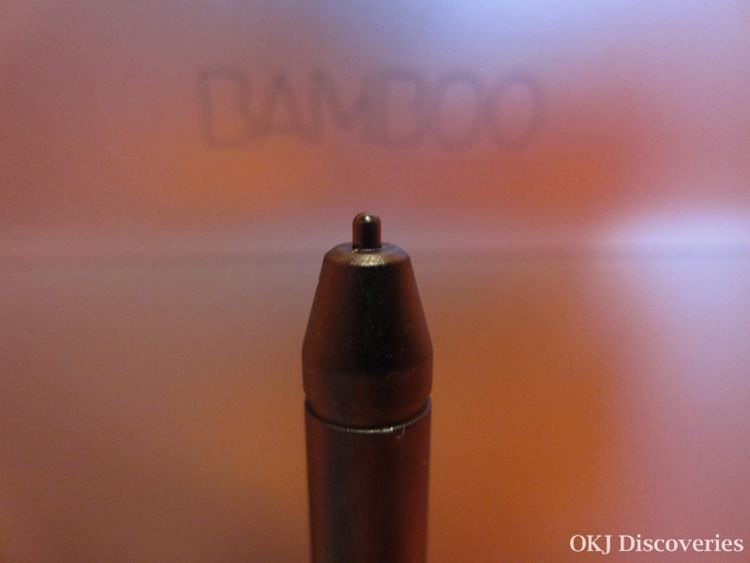 Wacom Bamboo Pad Stylus / Photo Credit: OKJ Photography