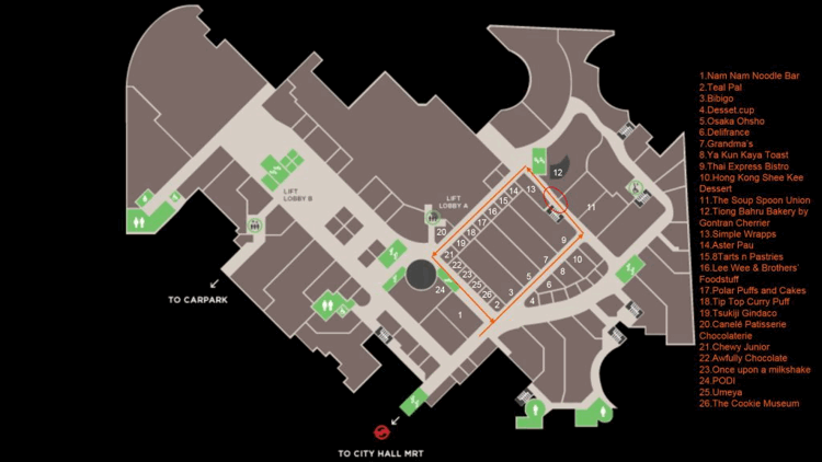 Raffles City Basement 1 Circuit Test