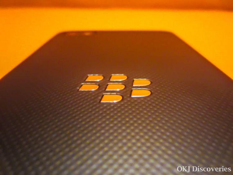 BlackBerry Z10 Back Close Up /Photo Credit: OKJ Photography