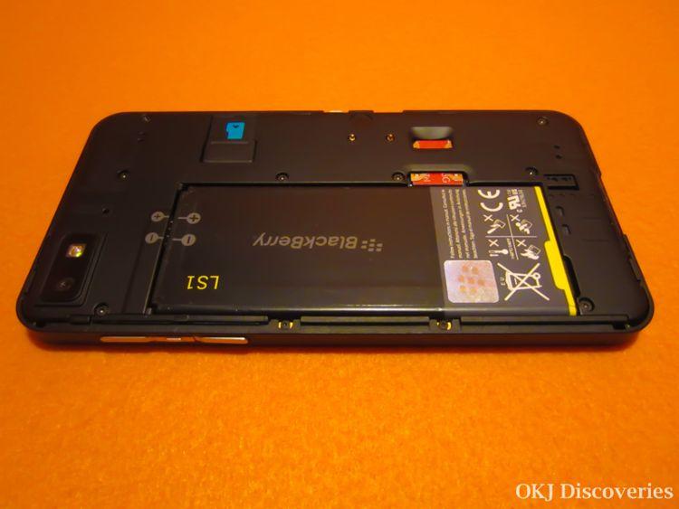 BlackBerry Z10 Battery /Photo Credit: OKJ Photography